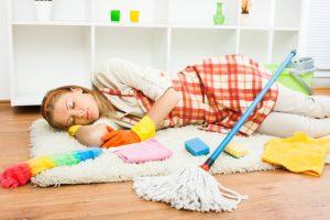sleeping cleaner